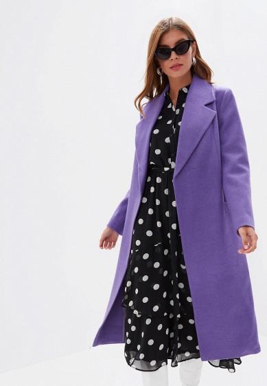 Пальто, Vivaldi, цвет: фиолетовый. Артикул: MP002XW0RDG9. Одежда / Верхняя одежда / Пальто