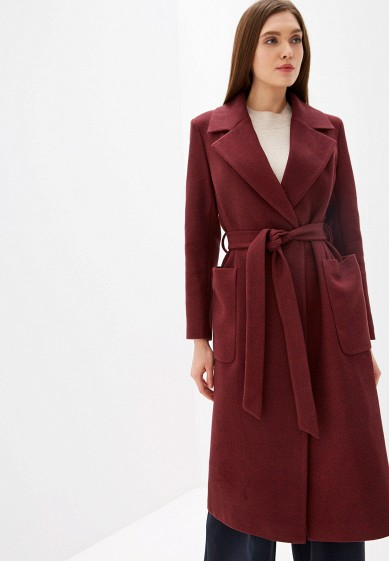 Пальто, Vivaldi, цвет: бордовый. Артикул: MP002XW0RDGL. Одежда / Верхняя одежда / Пальто