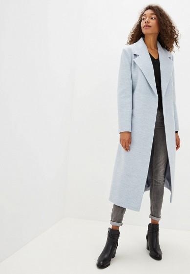 Пальто, Vivaldi, цвет: голубой. Артикул: MP002XW0RDQD. Одежда / Верхняя одежда / Пальто