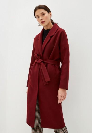 Пальто, Paradox, цвет: бордовый. Артикул: MP002XW0RGWV. Одежда / Верхняя одежда / Пальто