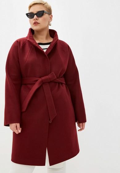 Пальто, Paradox, цвет: бордовый. Артикул: MP002XW0RGWW. Одежда / Верхняя одежда / Пальто