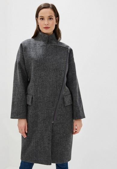 Пальто, Ruxara, цвет: серый. Артикул: MP002XW0SJZQ. Одежда / Верхняя одежда / Пальто / Зимние пальто