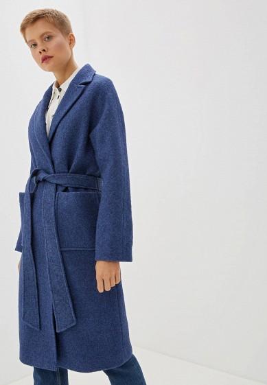 Пальто, Ovelli, цвет: синий. Артикул: MP002XW0TOM4. Одежда / Верхняя одежда / Пальто