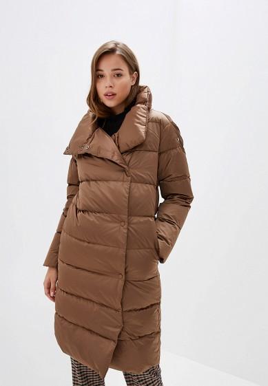 Пуховик, Conso Wear, цвет: коричневый. Артикул: MP002XW0TUNX. Одежда / Верхняя одежда