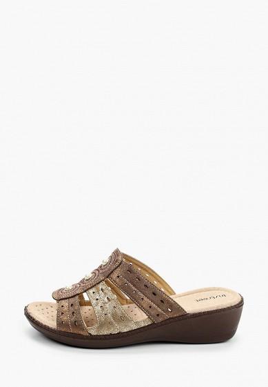 Сабо, Instreet, цвет: коричневый. Артикул: MP002XW106BO. Обувь
