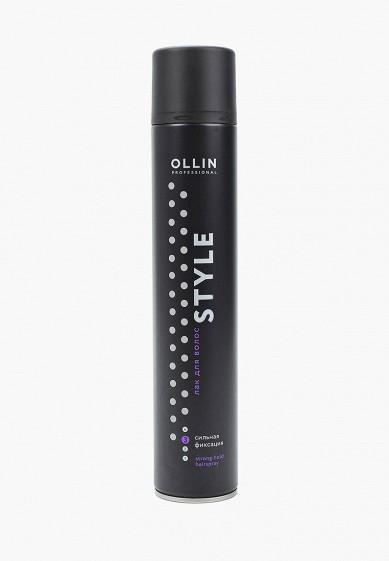 Лак для волос Ollin STYLE, сильной фиксации, 500 мл за 513 ₽. в интернет-магазине Lamoda.ru