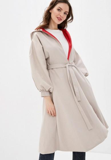 Плащ, Medea Maris, цвет: бежевый. Артикул: MP002XW11WA9. Одежда / Верхняя одежда / Пальто / Зимние пальто