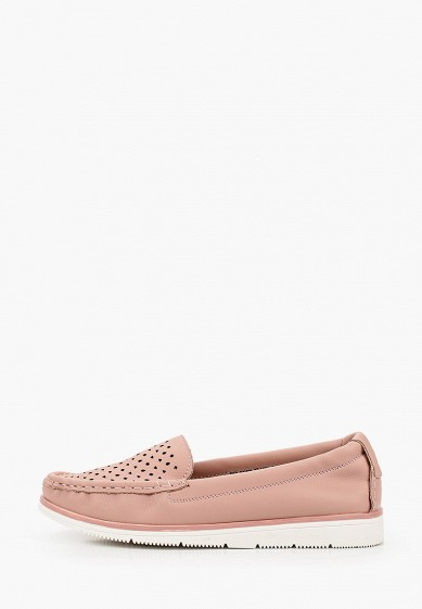 Мокасины, Instreet, цвет: розовый. Артикул: MP002XW130MN. Обувь