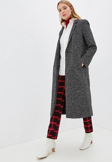 Пальто, Forza Viva, цвет: черный. Артикул: MP002XW1507T. Одежда / Верхняя одежда / Пальто