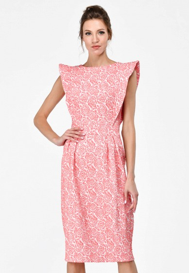 Платье, Alisia Fiori, цвет: розовый. Артикул: MP002XW15HPA. Одежда / Платья и сарафаны