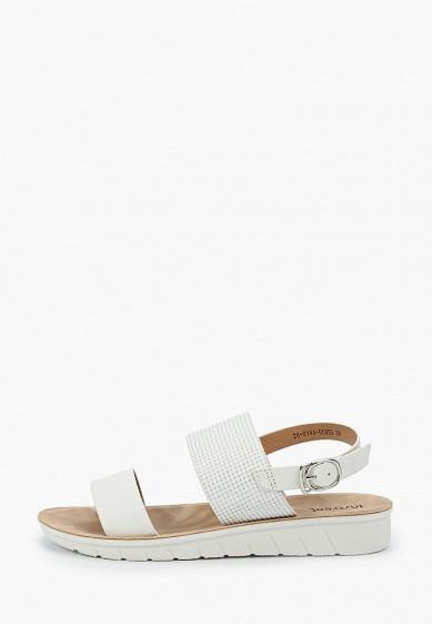 Сандалии, Instreet, цвет: белый. Артикул: MP002XW18QHC. Обувь