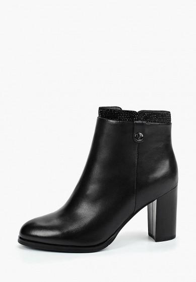 Ботильоны, Pierre Cardin, цвет: черный. Артикул: MP002XW198P4. Обувь / Ботильоны