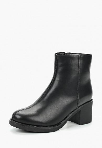 Ботильоны, T.Taccardi, цвет: черный. Артикул: MP002XW19D40. Обувь / Ботильоны