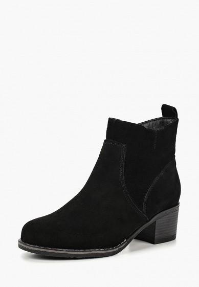 Ботильоны, Alessio Nesca, цвет: черный. Артикул: MP002XW19D4R. Обувь / Ботильоны