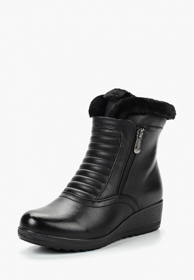 Ботильоны, T.Taccardi, цвет: черный. Артикул: MP002XW19D5Q. Обувь / Ботильоны