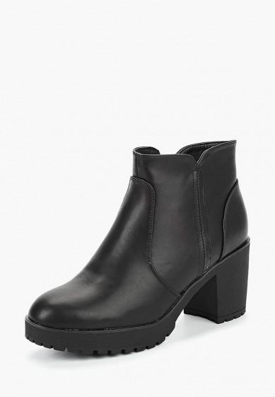 Ботильоны, T.Taccardi, цвет: черный. Артикул: MP002XW19D5Z. Обувь / Ботильоны