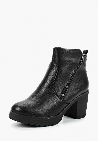 Ботильоны, T.Taccardi, цвет: черный. Артикул: MP002XW19D65. Обувь / Ботильоны