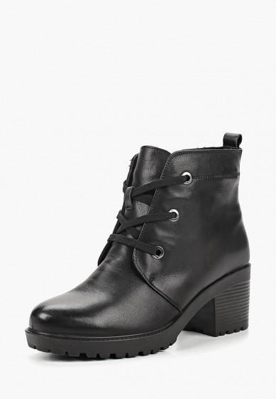 Ботильоны, Alessio Nesca, цвет: черный. Артикул: MP002XW19D68. Обувь / Ботильоны