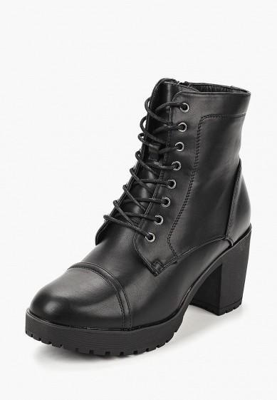 Ботильоны, T.Taccardi, цвет: черный. Артикул: MP002XW19D6E. Обувь / Ботильоны