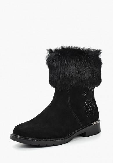 Полусапоги, Pierre Cardin, цвет: черный. Артикул: MP002XW19D6W. Обувь / Сапоги