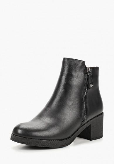 Ботильоны, Pierre Cardin, цвет: черный. Артикул: MP002XW19DFT. Обувь / Ботильоны