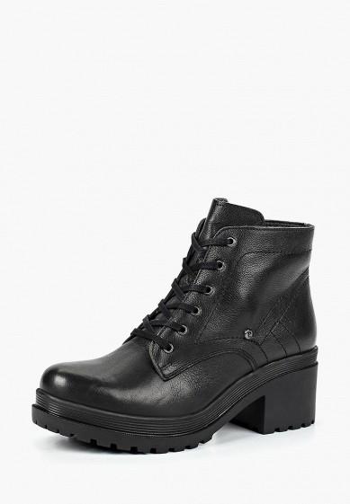 Ботильоны, Pierre Cardin, цвет: черный. Артикул: MP002XW19F2F. Обувь / Ботильоны