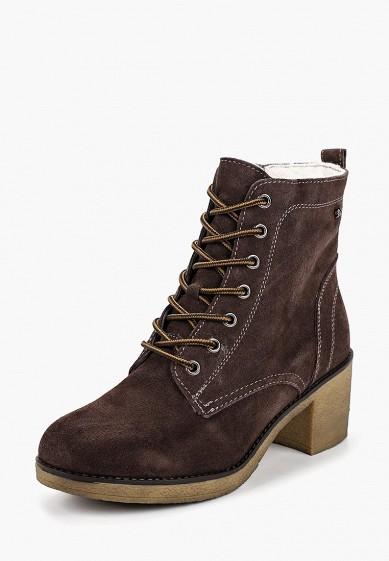 Ботильоны, Alessio Nesca, цвет: коричневый. Артикул: MP002XW19F35. Обувь / Ботильоны