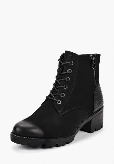 Ботильоны, T.Taccardi, цвет: черный. Артикул: MP002XW19F36. Обувь / Ботильоны
