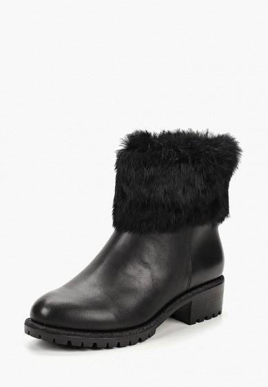 Полусапоги, Pierre Cardin, цвет: черный. Артикул: MP002XW19F52. Обувь / Сапоги