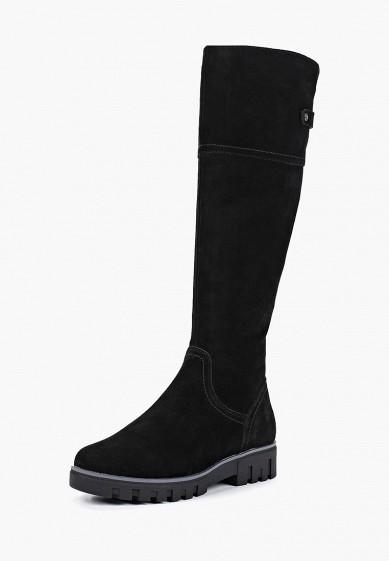 Ботфорты, Pierre Cardin, цвет: черный. Артикул: MP002XW19F79. Обувь / Сапоги