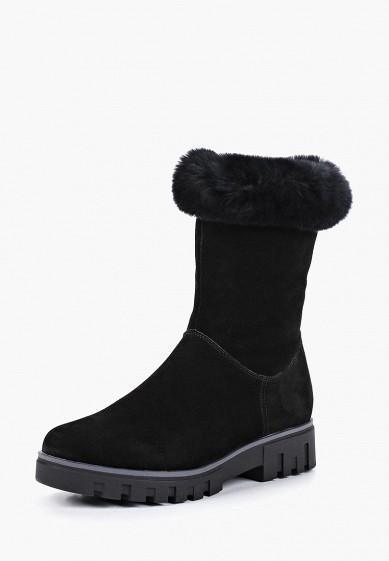 Полусапоги, Pierre Cardin, цвет: черный. Артикул: MP002XW19F96. Обувь / Сапоги