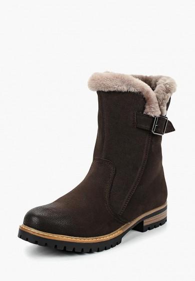 Полусапоги, T.Taccardi, цвет: коричневый. Артикул: MP002XW19FDO. Обувь / Сапоги