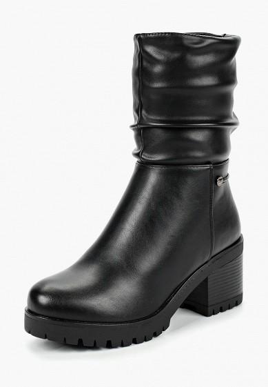 Ботильоны, T.Taccardi, цвет: черный. Артикул: MP002XW19FE1. Обувь / Ботильоны