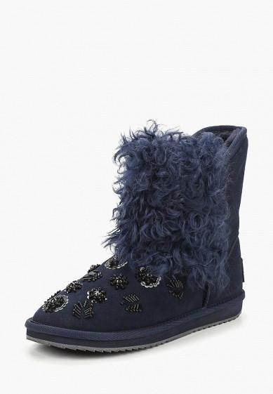 Полусапоги, Pierre Cardin, цвет: синий. Артикул: MP002XW19FM8. Обувь / Сапоги