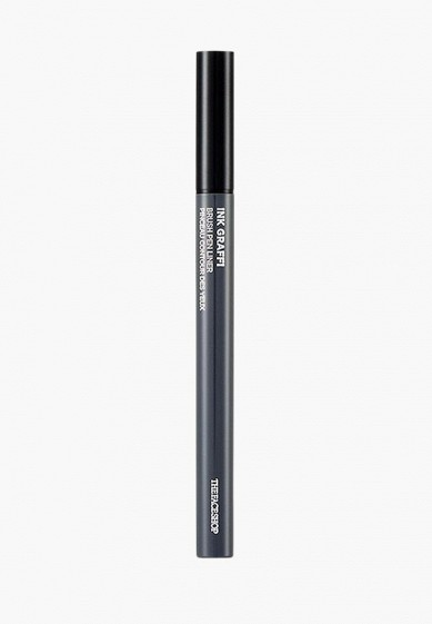 Подводка для глаз Thefaceshop INK GRAFFI BRUSH PEN LINER 01 INK BLACK