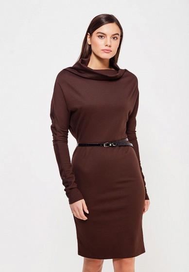 Платье, Alina Assi, цвет: коричневый. Артикул: MP002XW1AJJE. Одежда / Платья и сарафаны