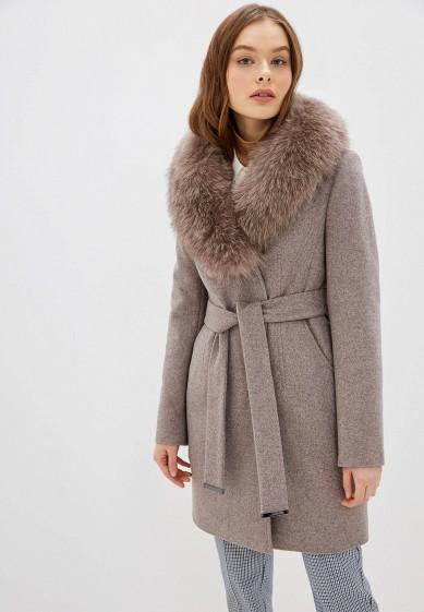 Пальто, Avalon, цвет: бежевый. Артикул: MP002XW1BX3O. Одежда / Верхняя одежда / Пальто / Зимние пальто