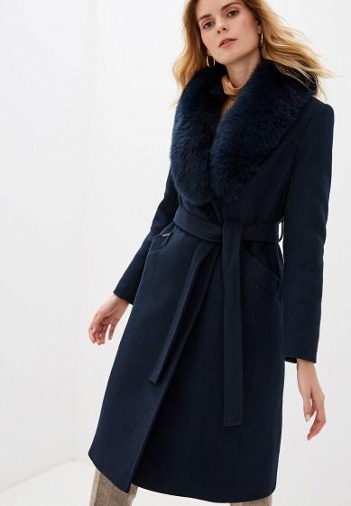 Пальто, Avalon, цвет: синий. Артикул: MP002XW1BX3S. Одежда / Верхняя одежда / Пальто / Зимние пальто