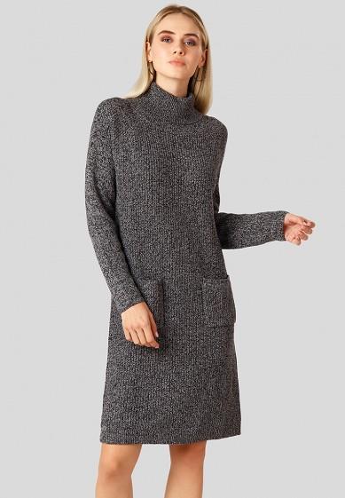 Платье, Finn Flare, цвет: черный. Артикул: MP002XW1CSOW. Одежда / Платья и сарафаны