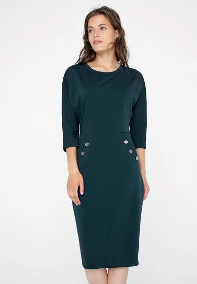 Платье, Eliseeva Olesya, цвет: зеленый. Артикул: MP002XW1GMQH. Одежда / Платья и сарафаны
