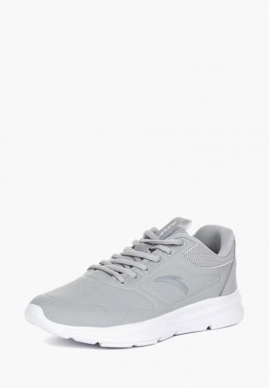 Кроссовки, Anta, цвет: серый. Артикул: MP002XW1GQCD. Обувь / Кроссовки и кеды / Кроссовки