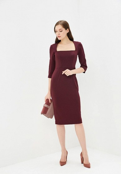 Платье, ANROstore, цвет: бордовый. Артикул: MP002XW1H0PD. Одежда / Платья и сарафаны