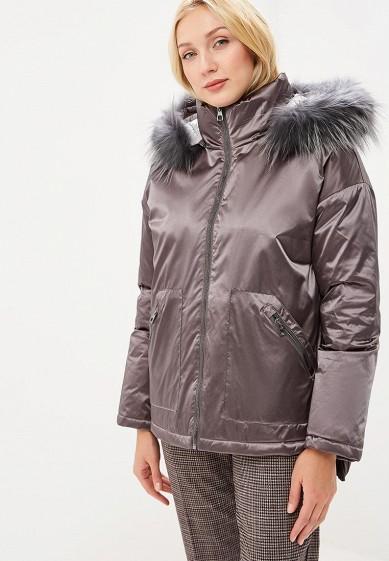 Пуховик, Conso Wear, цвет: серый. Артикул: MP002XW1H3V6. Одежда / Верхняя одежда