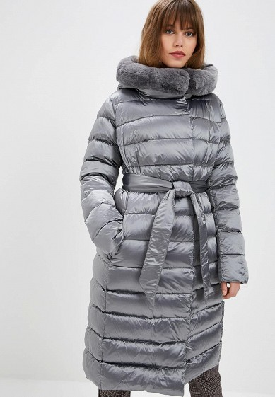Пуховик, Conso Wear, цвет: серый. Артикул: MP002XW1H3XA. Одежда / Верхняя одежда