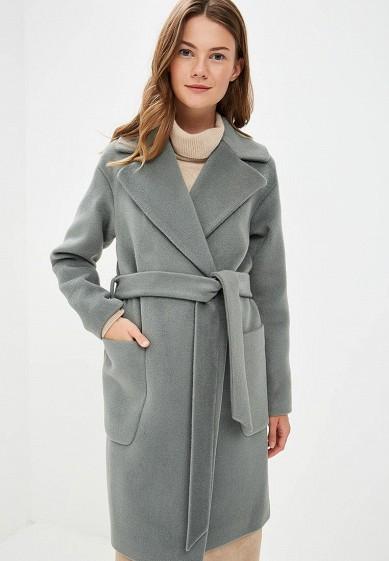Пальто, Vivaldi, цвет: зеленый. Артикул: MP002XW1H4S2. Одежда / Верхняя одежда / Пальто
