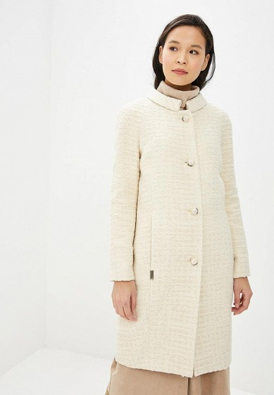 Пальто, Gamelia, цвет: белый. Артикул: MP002XW1H90I. Одежда / Верхняя одежда / Пальто