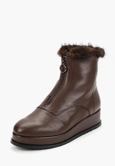 Полусапоги, Berkonty, цвет: коричневый. Артикул: MP002XW1HFST. Обувь / Сапоги