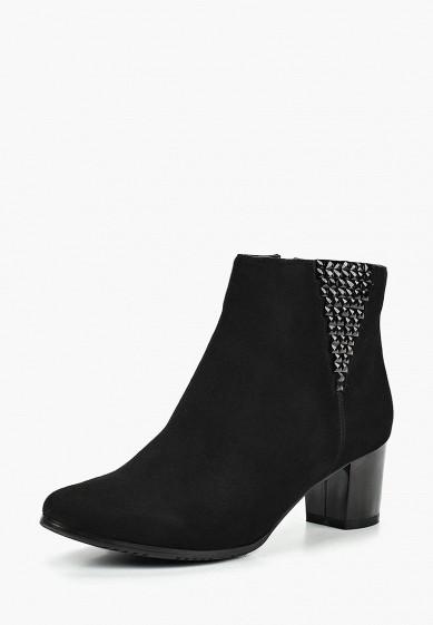 Ботинки, Berkonty, цвет: черный. Артикул: MP002XW1HFUW. Обувь / Ботильоны