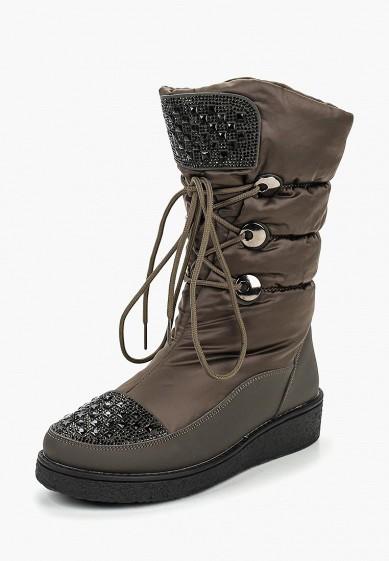 Дутики, Tervolina, цвет: хаки. Артикул: MP002XW1HJ9J. Обувь