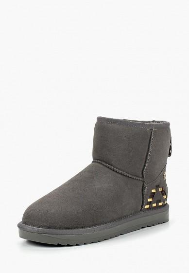 Полусапоги, Tervolina, цвет: серый. Артикул: MP002XW1HOTV. Обувь / Сапоги